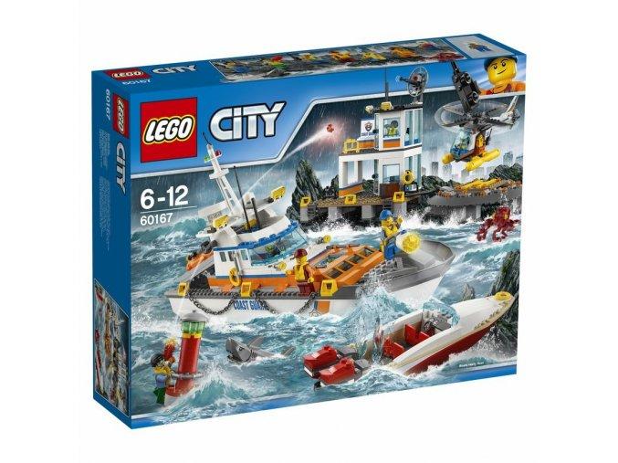 LEGO 60167 City Základna pobřeží
