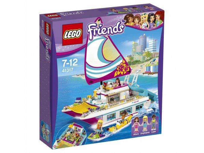 LEGO 41317 Friends Katamarán