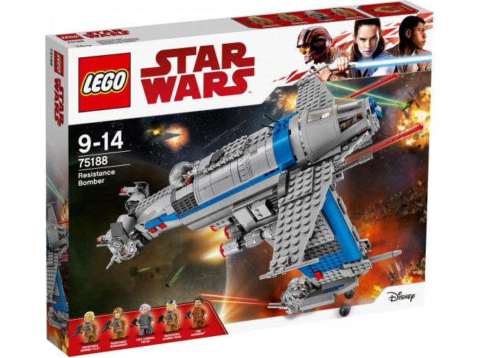 LEGO 75188 Star Wars Bombardér Odporu