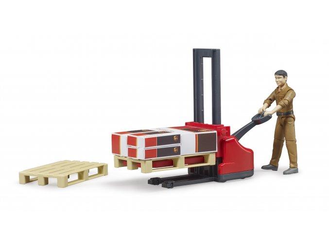 Logistický set, figurka