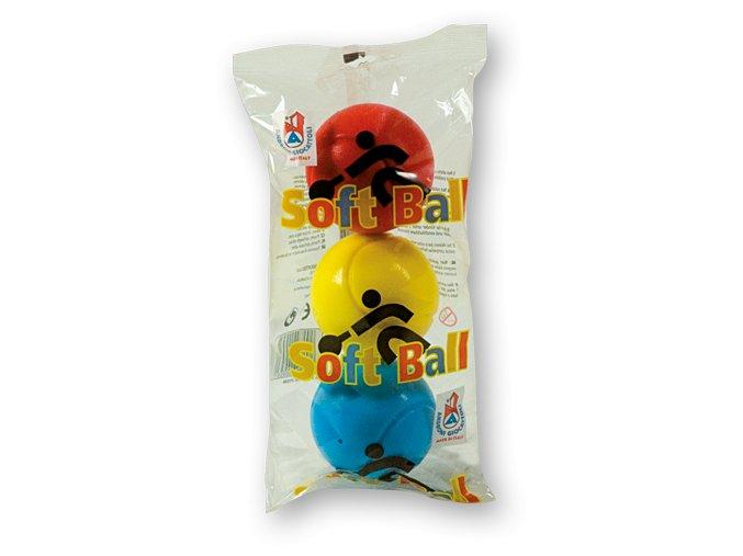 Androni-soft ball míček 3ks