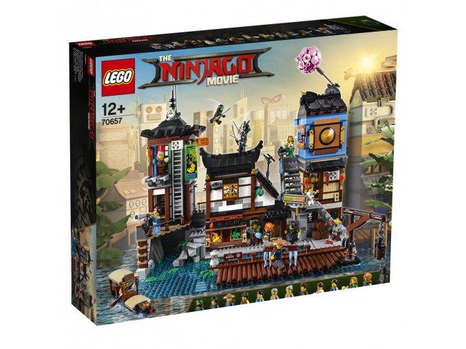 LEGO 70657 Ninjago Přístaviště v NINJAGO City