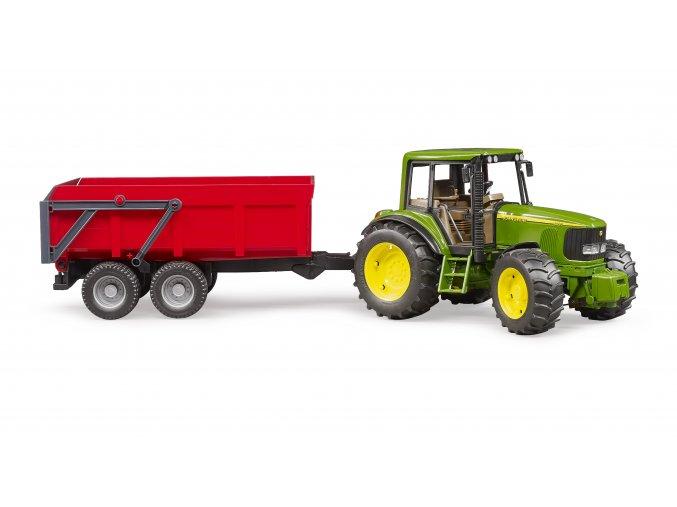 Traktor JOHN DEERE  6920 + sklápěcí valník