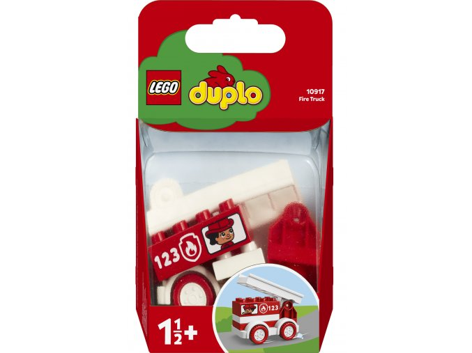 LEGO 10917 Duplo Hasičské autíčko