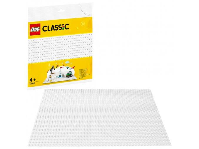 LEGO 11010 Classic Bílá podložka na stavění