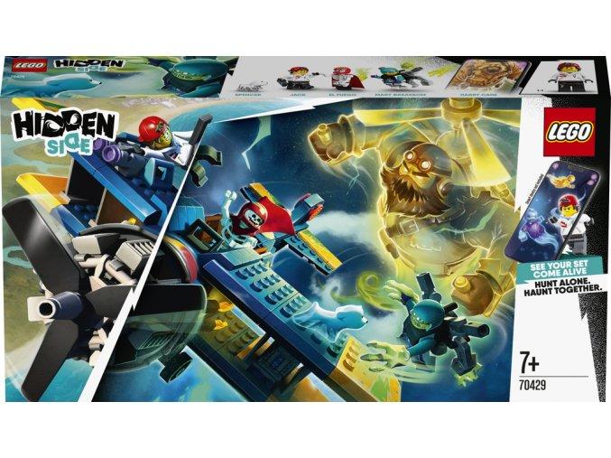 LEGO 70429 Hiden Side El Fuegovo kaskadérské letadlo