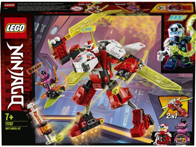 LEGO 71707 Ninjago Kai a robotický tryskáč