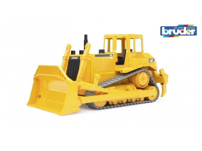 Žlutý BULDOZER CAT značky Bruder - BR 02422