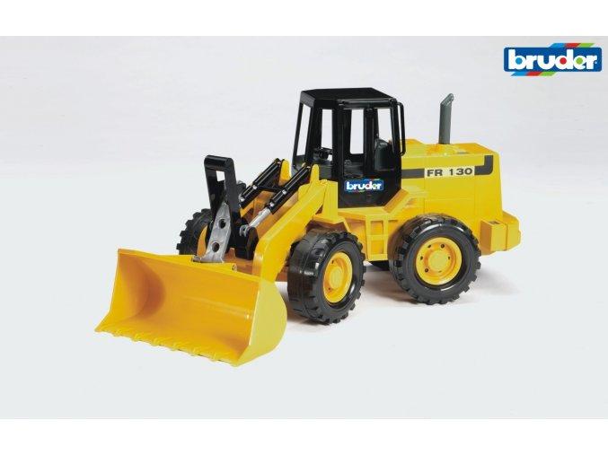 Žlutý NAKLADAČ FR 130 značky Bruder - BR 02425