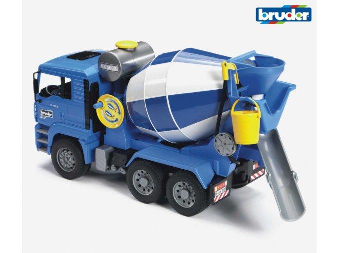 Modrá MÍCHAČKA MAN TGA značky Bruder - BR 02744
