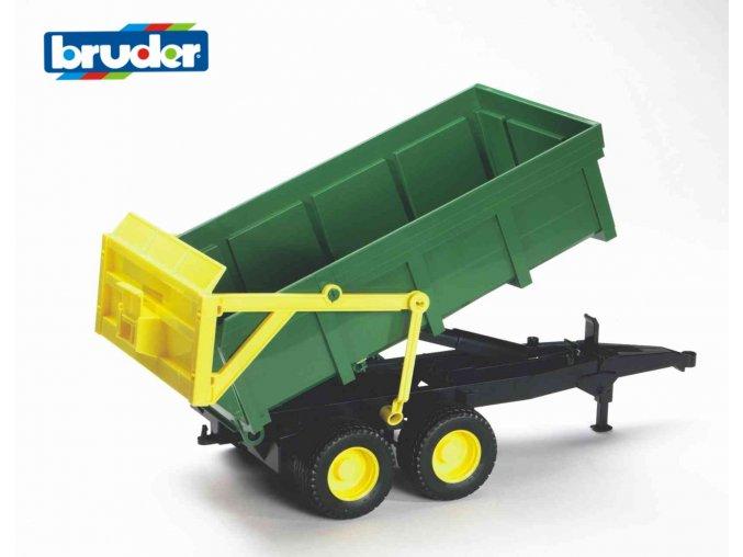 Přívěs s automatickou stěnou značky Bruder - BR 02210