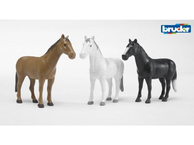 Figurka - kůň značky Bruder - BR 02306