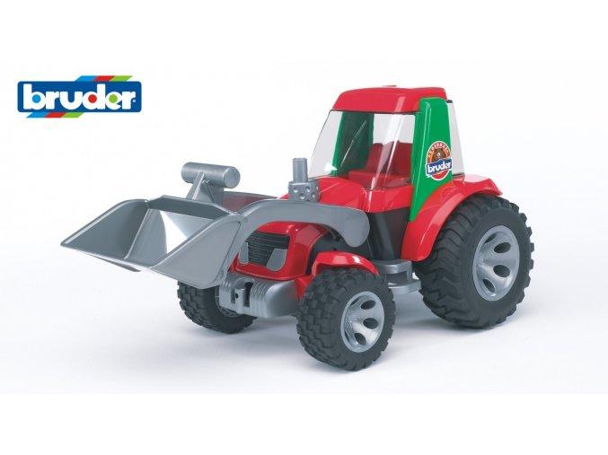 BRUDER 20102 Roadmax-TRAKTOR s radlicí