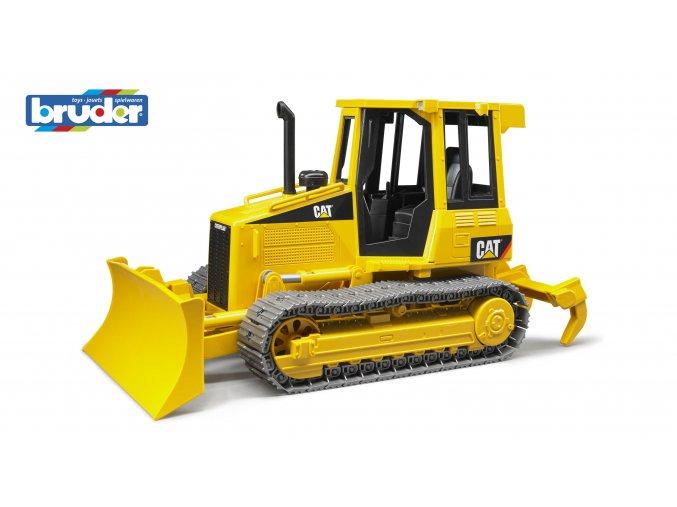 Žlutý BULDOZER CAT malý značky Bruder - BR 02443