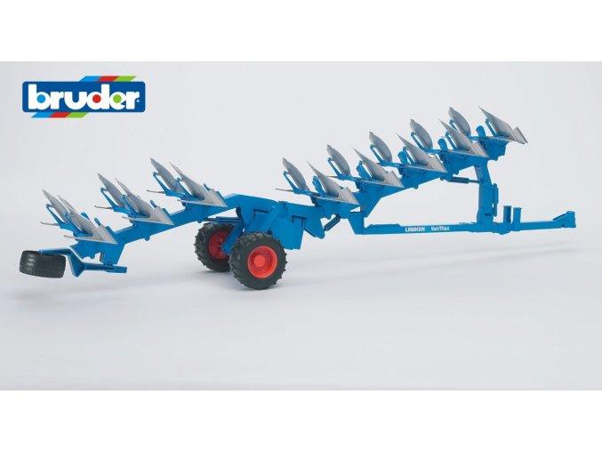 Modrý pluh LEMKEN VARI -TITAN značky Bruder - BR 02250