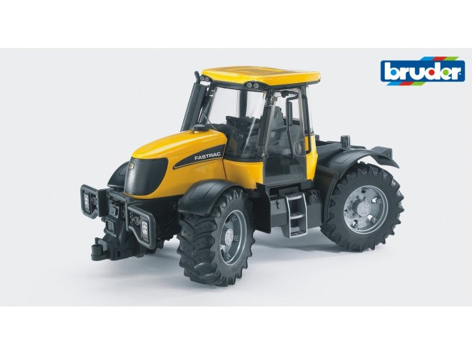 Žlutý TRAKTOR JCB FASTRAC 3220 značky Bruder - BR 03030