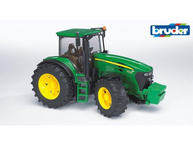 BRUDER 3050 Zelený TRAKTOR JOHN DEERE 7930