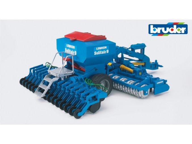 Modrá secí mašina LEMKEN Solitair 9 značky Bruder - BR 02026