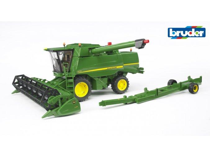 Zelený KOMBAJN JOHN DEERE značky Bruder - BR 02132