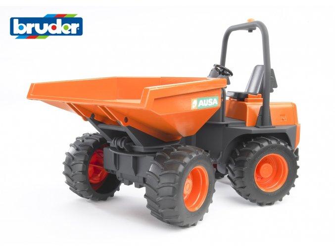 BRUDER 2449 Oranžový MINISKLÁPĚČ AUSA značky