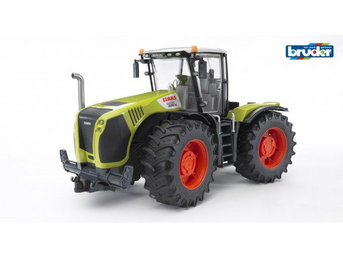 BRUDER 3015 Zelený TRAKTOR CLAAS XERION 5000