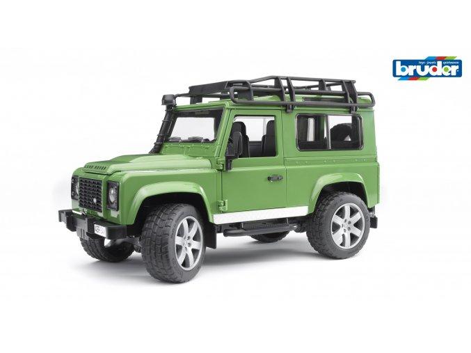 Zelené AUTO LAND ROVER DEFENDER značky Bruder - BR 02590