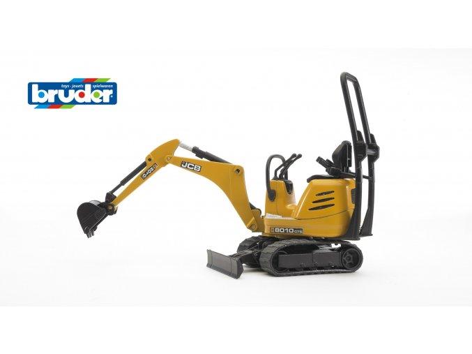 Žlutý mikro BAGR JCB 8010 CTS značky Bruder - BR 62003