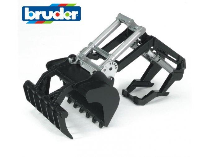 BRUDER 2317 Čelní nakladač pro traktory řady 02..