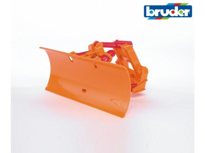 Čelní radlice shrnovací značky Bruder - BR 02581