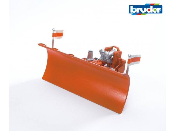 Čelní radlice shrnovací značky Bruder - BR 02582