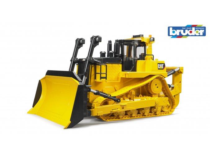 Žlutý BULDOZER CAT Bruder - BR 02452