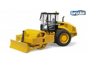 Žlutý VÁLEC CAT vibrační značky Bruder - BR 02450