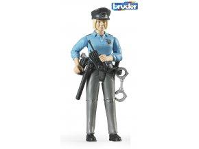 Figurka Policistka značky Bruder - BR 60430