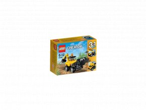 LEGO 31041 Creator Vozidla na stavbě