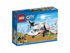 LEGO 60116 City Záchranářské letadlo
