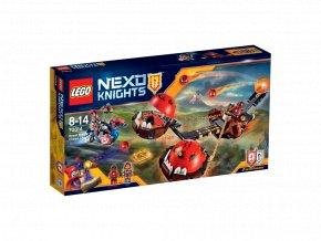 LEGO 70314 Nexo Knights Krotitelův vůz