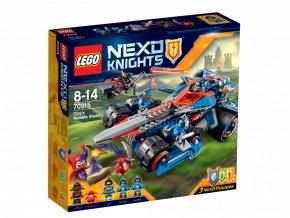 LEGO 70315 Nexo Knights Clayova burácející