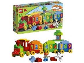 LEGO 10558 DUPLO Vláček plný čísel