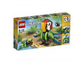 LEGO 31031 Creator Zvířata z deštného pralesa