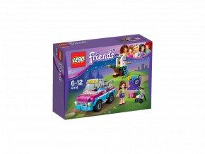LEGO 41116 Friends Olivie a její průzkumné auto