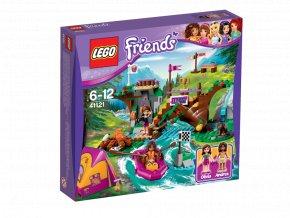LEGO 41121 Friends Dobrodružný tábor - jízda na divoké vodě