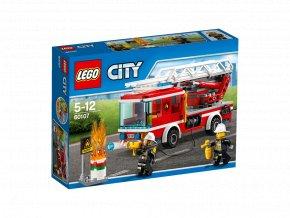 LEGO 60107 City Hasičsé auto se žebříkem