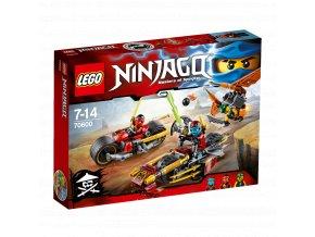 LEGO 70600 NINJAGO Honička nindža motorek