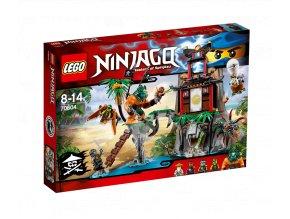LEGO 70604 NINJAGO Ostrov Tygří vdova