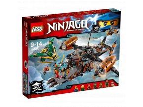 LEGO 70605 NINJAGO Smolná tvrz