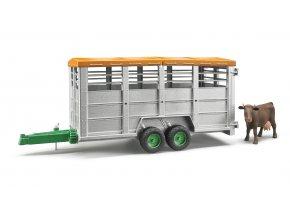 Přepravník na zvířata + figurka kráva značky BRUDER- BR02227