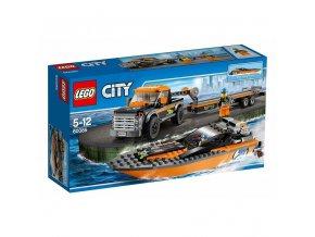LEGO 60085 City Motorový člun 4x4