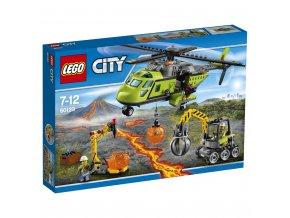 LEGO 60123 City Sopečná zásobovací helikoptéra