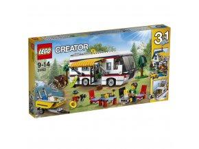 LEGO 31052 Creator Prázdninový karavan