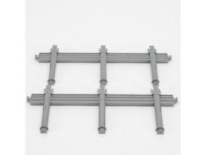 Náhradní díl pro Bruder BR 02213 - boční stojany na přívěs na dřevo